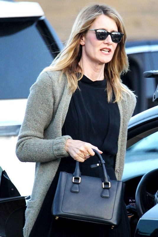LAURA DERN Out and About in Los Angeles 04/22/2018