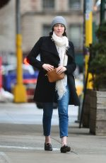 LAURA PREPON Out and About in New York 04/05/2018
