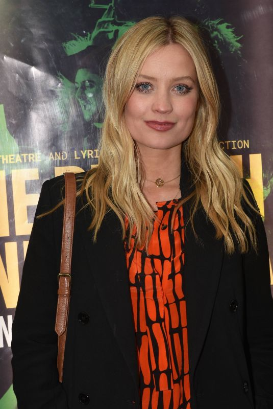 LAURA WHITMORE at Plough and the Stars Opening Night in Dublin 04/25/2018