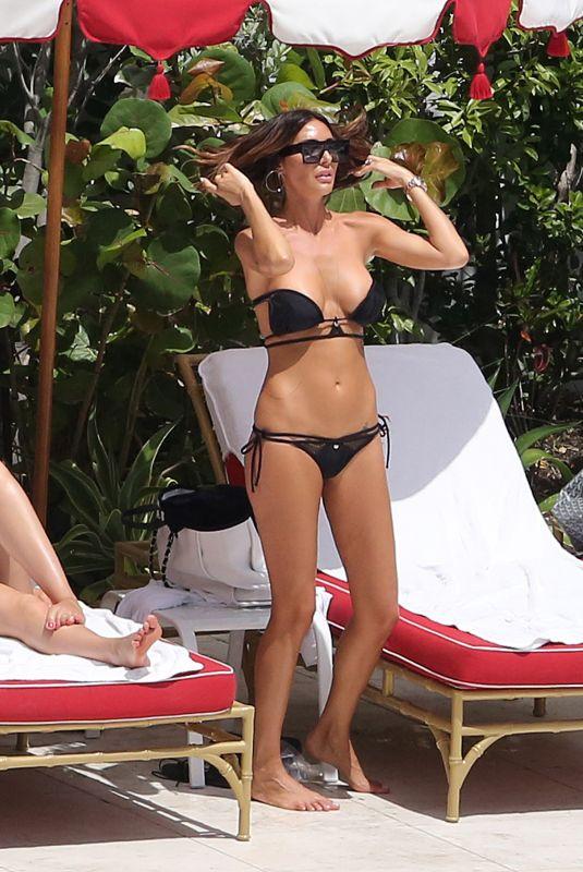 LAURA ZILLI in Bikini at a Pool in Miami 04/07/2018