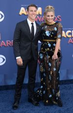 LAUREN ALAINA at 2018 ACM Awards in Las Vegas 04/15/2018