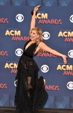 LAUREN ALAINA at 53rd Annual Academy of Country Music Awards in Las Vegas 04/15/2018