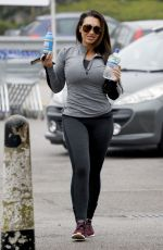 LAUREN GOODGER and DANIELLE ARMSTRONG Leaves a Gym in Essex 04/12/2018