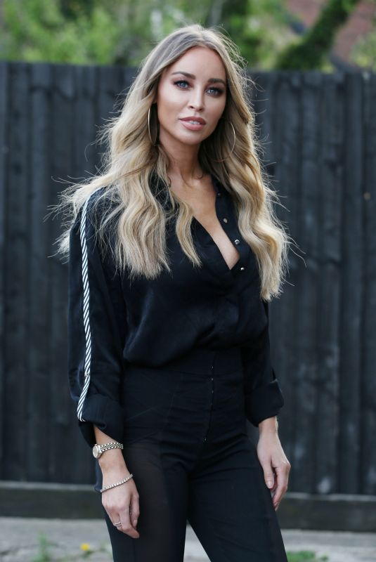 LAUREN POPE on the Set of TOWIE in Essex 04/25/2018