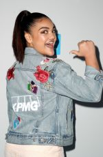 LAURIE HERNANDEZ at WE Day California in Los Angeles 04/19/2018