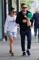 LEA MICHELE and Zandy Reic Out Shopping in Los Angeles 04/06/2018