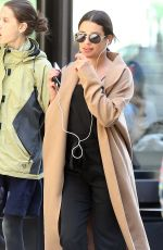 LEA MICHELE Out and About in New York 04/26/2018