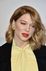 LEA SEYDOUX at Isle of Dogs Premiere at Cinema Gaumont Capucines in Paris 04/03/2018
