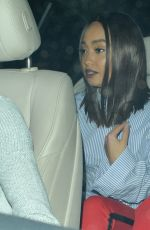 LEIGH-ANNE PINNOCK Leaves Cantina Laredo in Los Angeles 03/31/2018
