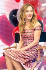 LESLIE MANN Promotes Her Blockers Movie at Today Show in New York 04/02/2018
