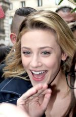 LILI REINHART Arrives at Her Hotel in Paris 04/01/2018