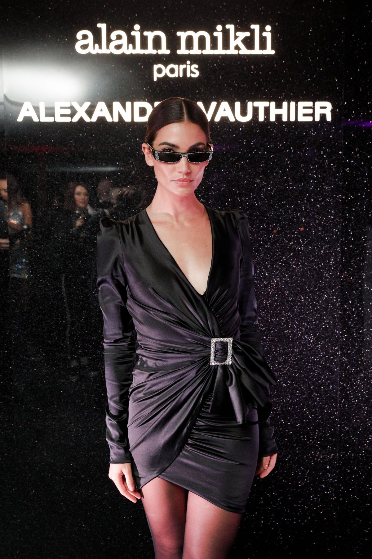 online store incredible prices low cost LILY ALDRIDGE at Alain Mikli x Alexandre Vauthier Launch ...