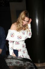 LILY JAMES Leaves The Guernsey Literary and Potato Peel Pie Society After Partyin London 04/09/2018\