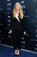 LILY RABE at Legion Season 2 Premiere in Los Angeles 04/02/2018
