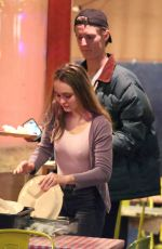 LILY-ROSE DEPP and Walker Bunting at Pinches Tacos in West Hollywood 04/20/2018