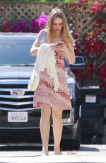 LILY-ROSE DEPP Arrives at a Spa in Los Angeles 04/23/2018