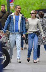 LILY-ROSE DEPP Out and About in Paris 04/29/2018