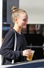 LILY-ROSE DEPP Out for Lunch in Studio City 04/20/2018