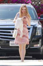 LILY-ROSE DEPP Out in Los Angeles 04/23/2018