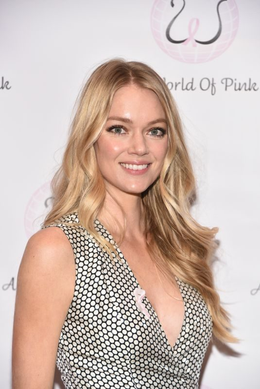 LINDSAY ELLINGSON at World of Pink Breast Cancer Benefit in New York 04/19/2018