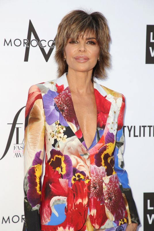 LISA RINNA at Daily Front Row Fashion Awards in Los Angeles 04/08/2018
