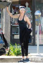 LISA RINNA Leaves Yoga Class in Studio City 04/08/2018