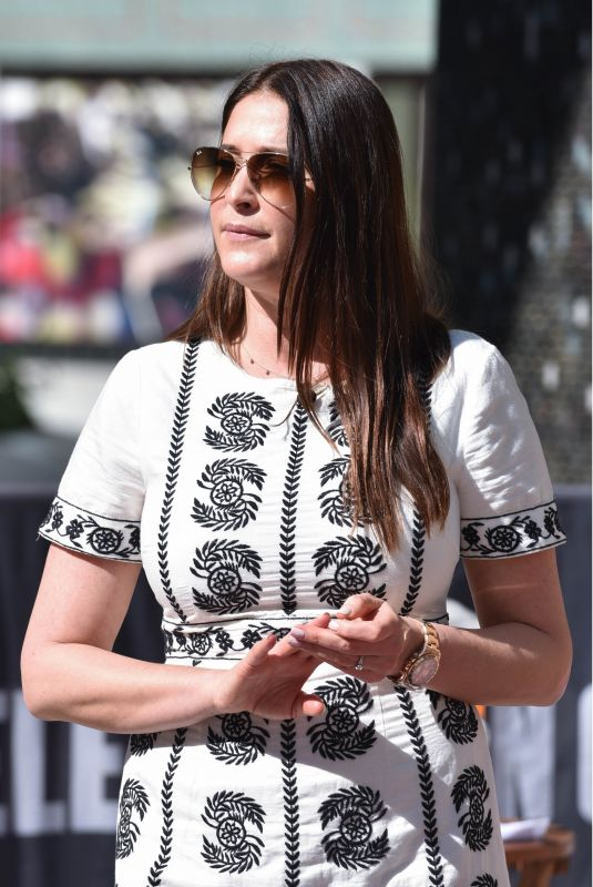 LISA SNOWDON at This Morning Show in London 04/19/2018