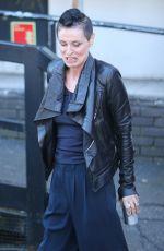 LISA STANSFIELD Leaves ITV Studios in London 04/05/2018