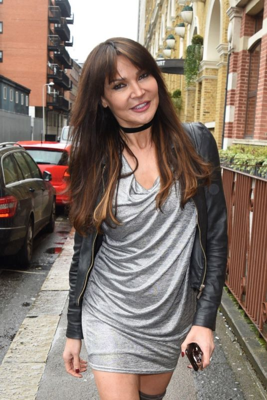 LIZZIE CUNDY Arrives at Her New Talkradio Show 04/27/2018