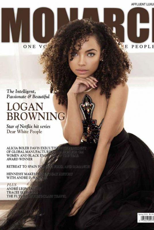 LOGAN BROWNING in Monarch Magazine, Spring 2018