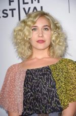 LOLA KIRKE at Untogether Premiere at Tribeca Film Festival in New York 04/23/2018