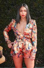 LORI HARVEY at Daytime Emmy Awards 2018 in Los Angeles 04/29/2018