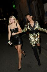 LOTTIE MOSS and EMILY BLACKWELL at Libertine Nightclub in London 04/26/2018