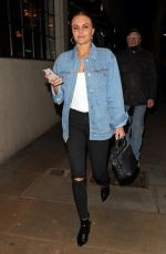 LOTTIE MOSS and EMILY BLACKWELL at Ours Restaurant in London 04/25/2018