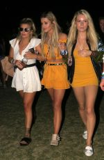 LOTTIE MOSS at 2018 Coachella Valley Music and Arts Festival 04/15/2018