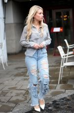 LOTTIE MOSS, EMILY BLACKWELL, SOPHIE BABBOO and FRANKIE GAFF at Bluebird Restaurant in London 04/03/2018