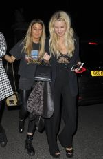LOTTIE MOSS, FRANKIE GAFF and SOPHIE HABBOO at Mahiki Nightclub in London 04/08/2018