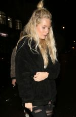 LOTTIE MOSS Night Out at Soho House in London 04/09/2018
