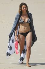 LUCIANA BARROSO in Bikini at a Beach in Byron Bay 04/01/2018