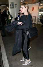 LUCY HALE at Los Angeles International Airport 04/24/2018