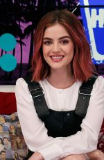 LUCY HALE at Young Hollywood Studio in Los Angeles 04/11/2018