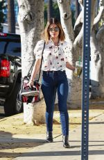 LUCY HALE Out for a Tea in Los Angeles 04/03/2018