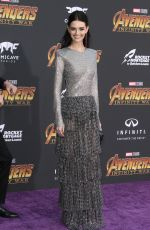 LYDIA HEARST at Avengers: Infinity War Premiere in Los Angeles 04/23/2018