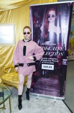 MADELAINE PETSCH Promotes Her New Capsule Collection for Prive Revaux in New York 04/06/2018