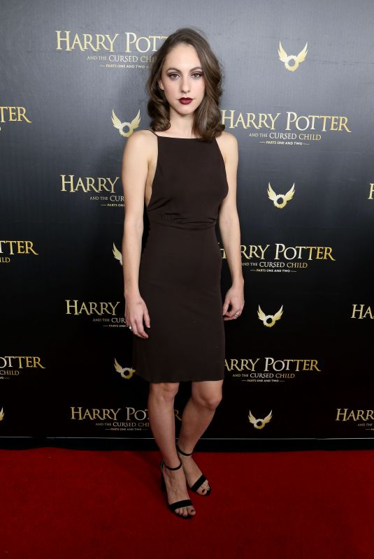 MADELINE WEINSTEIN at Harry Potter and the Cursed Child Broadway Opening in New York 04/22/2018