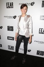 MAGGIE GRACE at FYC The Walking Dead and Fear the Walking Dead in Los Angeles 04/15/2018