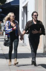 MALIN AKERMAN Out for Lunch in Hollywood 04/16/2018