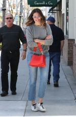 MANDY MOORE Leaves Cafe Gratitude in Beverly Hills 04/27/2018