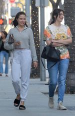 MARA TEIGEN and BRITTNY GASTINEAU Out Shopping in Beverly Hills 04/24/2018
