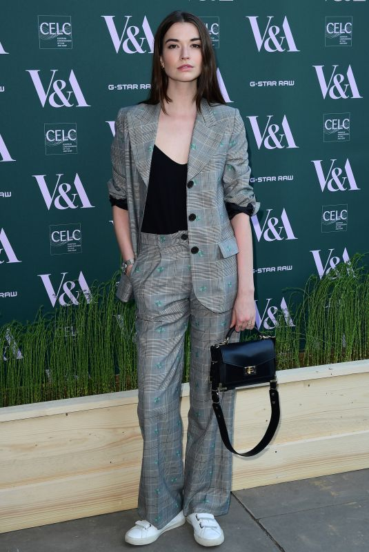 MARGARET CLUNIE at Fashioned for Nature Exhibition VIP Preview in London 04/18/2018